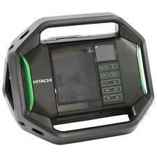 Hitachi Akku Radio UR18DSAL, Baustellenradio, spritzwassergeschützt, USB Ausgang
