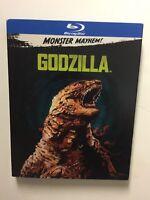 Godzilla (Blu-ray, Monster Mayhem, 2017) NEW w/slipcover