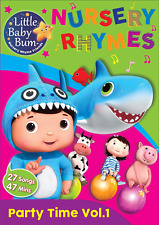 DVD Little Baby Bum Kids Party Time Nursery Rhymes 27 Songs 47 Minutes