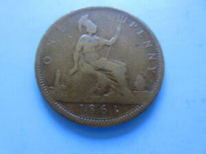 1861 penny freeman 20 extremely  rare