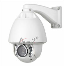 30X  Auto tracking Zoom CCTV high Speed 1200TVL 8IR Dome PTZ Outdoor Camera #205
