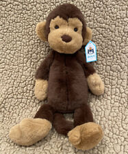 "Jellycat 12"" Wumper Monkey plush....NWT...CUTE"