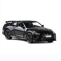 Nissan GTR R35 Sports Car 1:36 Model Car Diecast Toy Vehicle Kids Gift Black
