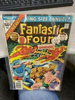 Fantastic Four King Size Annual #11 Marvel Comics Invaders Kirby Cover