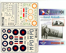TALLY HO! 48002 - DECALS 1/48 W/Cdr KAREL MRAZEK DSO, DFC