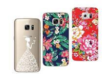 Samsung Galaxy S7 - Paquete De 3 Carcasas Gel Suave Con Estampado Extravagante