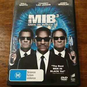 Men in Black 3 DVD R4 VERY GOOD - FREE POST
