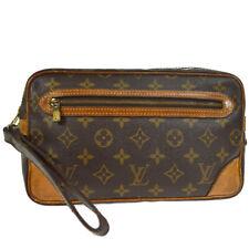 LOUIS VUITTON MARLY DRAGONNE CLUCTH HAND BAG PURSE MONOGRAM bgl M51825 32992