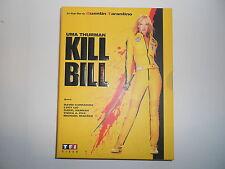 Double DVD KILL BILL Vol.1 TBE Uma Thurman Quentin Tarantino