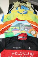 4 Bike Cycling Jersey Shirts Tops ( 1 South Park) - Women's  Large + Arm Warmers