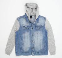 Denim Co Mens Size L Denim Blue Jacket