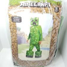 Halloween Minecraft Adults' Creeper Prestige Halloween Costume One Size New