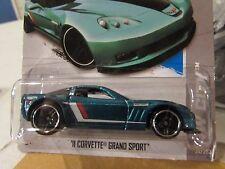Hot Wheels '11 Corvette Grand Sport HW City Blue