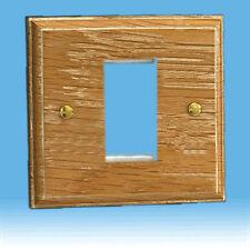 Varilight DataGrid Plate (1 Grid Space) Limed Oak XKG1LO