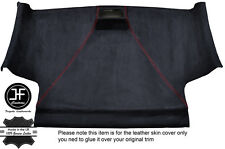 RED STITCH FRONT ROOF HEADLINING PU SUEDE COVER FITS VW CADDY MK3 05-15