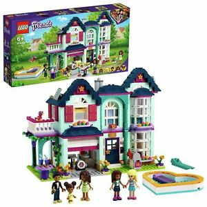 LEGO Friends Andrea's Family House Dollhouse Playset - 41449 (DAMAGED PACKAGING)