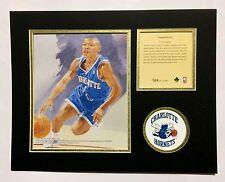 Charlotte Hornets TYRONE BOGUES 1994 NBA Basketball 11x14 Lithograph Print