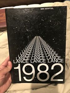 ORIGINAL 1982 Saint ST. JOSEPH HIGH SCHOOL YEARBOOK SANTA MARIA CALIFORNIA