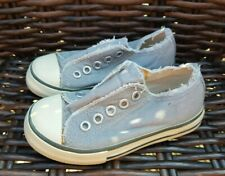 Mini Boden Grey Pumps Trainers Size 25