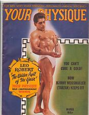 YOUR PHYSIQUE bodybuilding muscle fitness workout magazine/LEO ROBERT 3-48