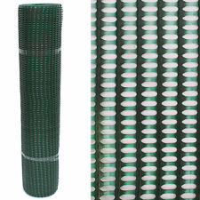 60 High Strength Windbreak Fence Netting Plastic Mesh 1m X 10m Green