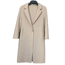 Wool Coat Long Size Small