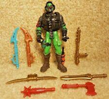 Chap Mei Ninja Fighter Hero in the Dark Dino Power Ninjatron Figure Weapons Lot