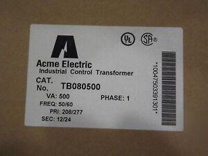 Acme Control Transformer #TB080500 Pri 208/277 Sec 12/24 500VA