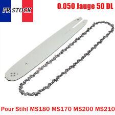 14'' 3/8 Guide-chaîne avec chaîne Pour Stihl MS180 MS170 MS200 .050 Jauge 50 DL