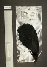 New Black Lady Amherst Pheasant Cape Head Jewelry/Crafts/Fly Tying Lot-Sf 424