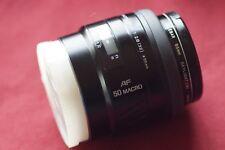 Minolta Maxxum AF Macro 50mm f/2.8 RS Lens For Sony Alpha Exc.++ Cond. ( look )