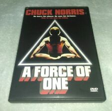 A Force of One DVD Chuck Norris