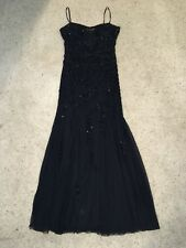 Sean Collection Black Sexy Beaded Sparkle Prom Dress Size XL! Great Condition!