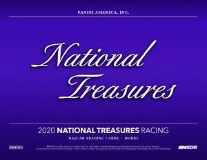 Brett Moffitt 2020 Panini National Treasures Racing 4 Box Full Case Driver Break