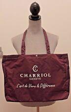 Charriol Large Nylon Tote Bag NEW