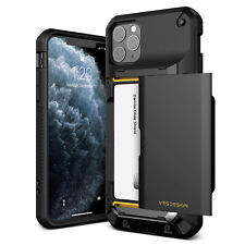 For iPhone 11/ Pro/ Max Case | VRS® [Damda Glide Pro] Hybrid Card Wallet Cover