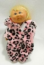 "Cabbage Patch Kid Girl Doll  Blond Hair Mini 7"" Toys R Us Signed"