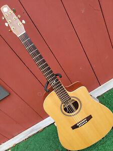 Seagull Artist CW EQ Acoustic-Electric Guitar w/ Tric Case