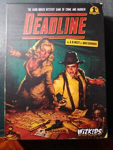 Deadline Detective Board Game - Wizkids