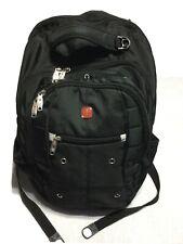 SwissGear Airflow Laptop Backpack - Black Lockable