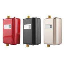 Mini Electric Tankless Instant Hot Water Heater Bath Kitchen Washing Safe US/EU
