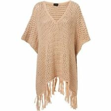 TopShop Chunky, Cable Knit V Neck Women's Jumpers & Cardigans