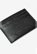 Armani Exchange Perforated Card Wallet New With Tags
