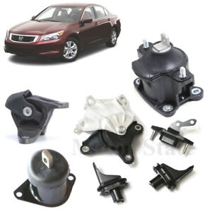 For Honda Accord Acura TSX 2.4L Full Set Engine Motor Auto Trans Mounts Kit 7PCS
