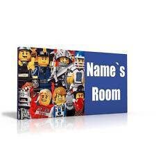 PERSONALISED DOOR SIGN / NAME PLAQUE - LEGO CITY FREE P&P