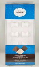 Chocomaker Chocolatier CHOCOLATE MOLD CRYSTAL PYRAMID 10 cavities
