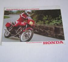 Prospekt / Broschüre Honda CB 250 RS !