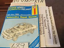 Wondrous 89 Plymouth Reliant Engine Diagram Wiring Diagram Wiring Cloud Hisonuggs Outletorg