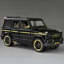 Diecast 1:24 Off Road Car Model Toy Brabus G65 SUV Replica Pull Back With S&L