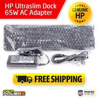 HP UltraSlim Laptop Docking Station ZBook 14 15u Mobile Workstation +65W Adapter